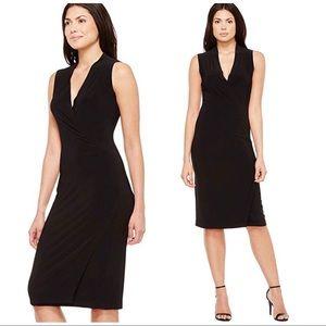 Norma Kamali black dress